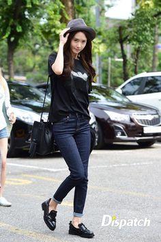 SNSD Yoona Kpop Fashion 150828 2015