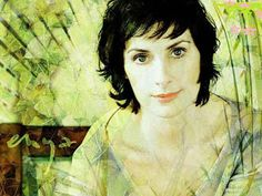 Enya Listening to her music in the most stressful family moments was great therapy for me. Enya Music, Music Tv, Her Music, Music Is Life, Clannad, Irish Singers, Female Singers, Pale People, New Age Music