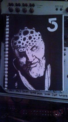 G'kar from Babylon 5. Sharpie