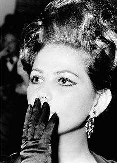 "theidleclass: "" Claudia Cardinale, c. 1960's """