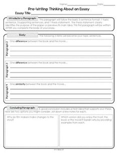 movie compare contrast essay These compare and contrast essay topics provide teachers and students with great and fun ideas for home and class work.