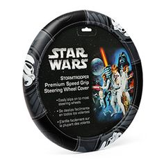 Star wars steering wheel cover - The Darth Vader one to match with my floor mats