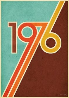Retro Design Flashback: The Colors of the (Note to self: buy the poster for my BF.) - The colors of the seventies were pretty drab in comparison to those of the psychedelic sixties Surf Design, Graphisches Design, Logo Design, Retro Design, Vintage Designs, Vintage Graphic Design, Design Color, Design Ideas, Print Design