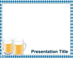 Oktoberfest PowerPoint Template is a free template with white background for PowerPoint that you can download for presentations requiring a German Oktoberfest background