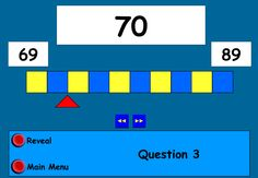 Virtual Counting Stick: Find the number on the number line. You can put in your own values, allowing you to differentiate for individual needs. Suggestions for use across all year groups and abilities. Site also includes a worksheet generator which you can also customise. Great for the whiteboard as well as for individuals.