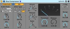 Learn the difference between a regular compressor and a sidechain compressor, and how to use sidechain compression in Ableton Live. Ableton Live, Big Challenge, Music Industry, Being Used, Drums, Audio, How To Apply, Music Production, Electric