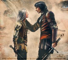 WOW, this is exactly like I imagine Safi and Merik. (Not this place, not this time by JustAnoR)