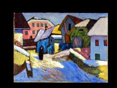 Jean Dryden Alexander 1911-1994 - Signed Gouache Landscape View To Win A High Admiration
