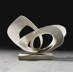 Barbara Hepworth, CURVED FORMS (PAVAN), VERSION 2