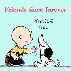 Amis depuis toujours.