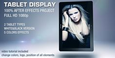 Buy Tablet Display by doru on VideoHive. TABLET DISPLAY is a fully customizable After Effects project for version and higher. After Effects Projects, After Effects Templates, Optical Flares, Free Footage, Color Effect, 30 Seconds, Photography Portfolio, Online Portfolio, Hd 1080p