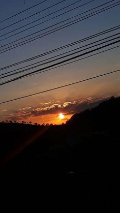 Sunset calm your heart.