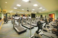 Toll Brothers Fitness Center - Parkland Golf and Country Club - Heritage Collection, FL