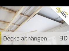 Decke abhängen - Holzkonstruktion herstellen - Anleitung & Tipps vom Maurer | Trockenbau @ diybook.at