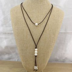 Hey, I found this really awesome Etsy listing at https://www.etsy.com/listing/277127916/t-l719-lariat-necklacepearl-necklacelong
