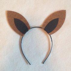 1 Kangaroo ears headband birthday party favors photo booth prop Halloween costume supplies invitation dress up Australia