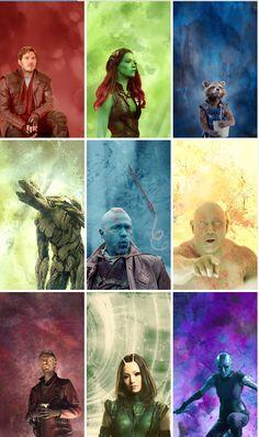 Guardians of the Galaxy by maanderinee
