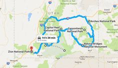 13 Unforgettable Road Trips To Take In Utah Before You Die Utah Vacation, Vacation Ideas, Grand Canyon Tours, Utah Parks, National Parks Map, Us Road Trip, Scary Places, Camping Places, Road Trippin