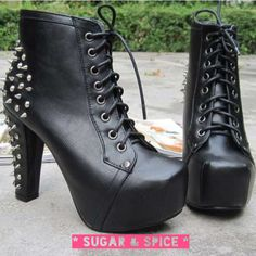 Chunky heel ankle boots now in stock!!!  Gotta get some! Visit www.facebook.com/sugarandspice22  or email cassie.leigh.wood@gmail.com