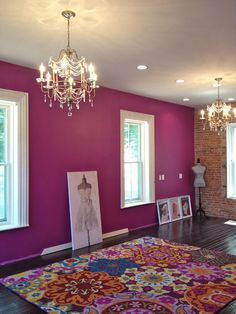Verve violet, by Sherwin Williams
