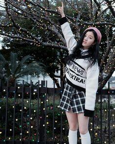 "[Pristin] Xiyeon Jacket Shooting Behind Album ""Hi Pristin"""