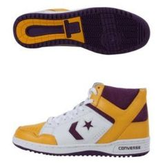 Converse Weapon 86 Hi. I wanted a pair of these SO badly...then I realized how terrible I was at basketball. And then I STILL wanted them.