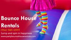Party Rentals Sacramento- 8 Elements To Spice Up Your Party by Party Bounce Bounce House Parties, House Party, Bounce House Rentals, Citrus Heights, Enjoy Summer, Throw A Party, Water Slides, Physical Activities, Physical Fitness