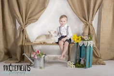 Moements Photography of Maysville kentucky presents Sweet lamb and bunny mini sessions for easter.  The kids love these baby animals!  #easter #babylamb #spring #photos #minisession #photography #childportraiture