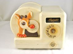 Antique Majestic Rudolph THE RED Nose Reindeer Tube Character Radio Model 104R | eBay