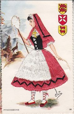 N°30, a girl from French Pyrenees