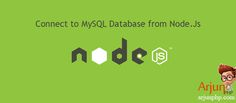 """In this article you will learn how to connect to MySQL server database using Node Js MySQL driver. We gonna use a MySQL driver called """"mysql"""". It is written in JavaScript, does not require compiling, and is 100% MIT licensed. MySQL is the most popular database system used with other programming languages like PHP,Java..etc. MySQL …"""