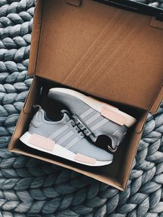 Adidas, NMDs, Shop ADIDAS, sneakers, shoes, style, fashion, womens fashion, chunky knit, chunky knit blanket