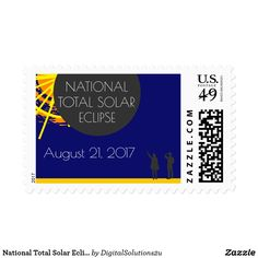 National Total Solar Eclipse Postage