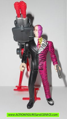 Batman Forever movie TWO FACE 1997 kenner hasbro toys action figures
