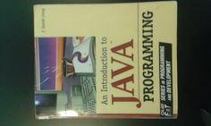 An Introduction to Java Programming by Y. Photoshop Images, Java, Research, Programming, Third, Exercise, Learning, Books, Excercise