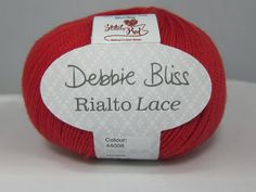 Debbie Bliss Rialio Lace Yarn. Can't wait to try this!
