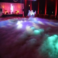 Theme ideas for ice and fire prom -either dry ice or for machine