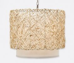 Chandeliers | Product Categories | Made Goods   I like the earthiness of this - accents your fireplace...