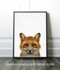 Hey, I found this really awesome Etsy listing at https://www.etsy.com/ca/listing/486954903/fox-print-fox-nursery-decor-print-fox
