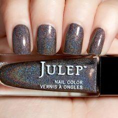 Julep: Ebony, graphite holographic
