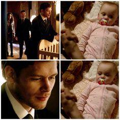 "The Originals – TV Série - Niklaus ""Klaus"" Mikaelson - Joseph Morgan - rei - King - lobo - Wolf - baby Hope Mikaelson - bebê - amor - love - daughter - filha - father - pai - dad - papai - cor de rosa - rose - pink - moda - style - look - inspiration - inspiração - fashion - elegante - elegant - chic - 2x14 - I Love You, Goodbye - Eu Te Amo, Adeus"