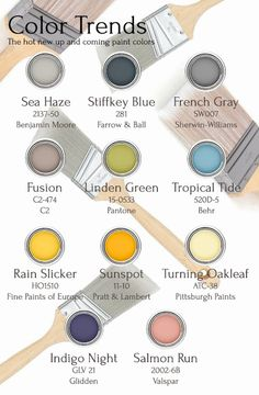Happy Monday!! It's trend alert blog post time, what are the next hot new paint colors?!? Paint professionals from top brands have spoken, follow the link to the blog and comment with your thoughts on either FB, Pinterest, or the blog (whichever you prefer) can't wait to read your comments!  -KP