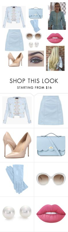 """Chanel Oberlin"" by thefunonenot ❤ liked on Polyvore featuring Chanel, Balmain, New Look, Massimo Matteo, The Cambridge Satchel Company, Gucci, Mikimoto, Lime Crime and Bellezza"