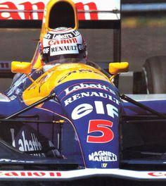 Arai Quantum Replica Nigel Mansell 1993 - Ansaloni Collection
