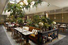 ALCAZAR Paris Trendy decor, contemporary menù and a popular bar serving great Restaurant Design, Decoration Restaurant, Restaurant Paris, Luxury Restaurant, Restaurant Lighting, Paris Restaurants, Restaurant Interiors, Modern Restaurant, Bistro Design