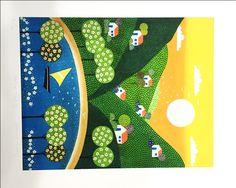 Galeria Arte Quadros \ Gravura \ CARMEN GARREZ - SERIE SOL III