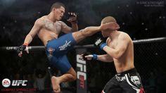 A Electronic Arts divulgou o primeiro trailer de EA Sports UFC, jogo oficial da UFC que pretende trazer um realismo extremo.