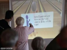 Researchers in Aberdeen think playing Wii Fit may improve the elderly's balance and lower risks of falling.