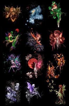 fairies | Fairies fairy country artist Anna Ignatieva » Download Graphic GFX ...