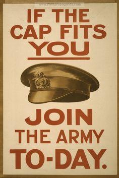 2W5 Vintage WWI German Join The Reichswehr Recruitment War Poster WW1 Print A4